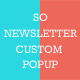 So Newsletter Custom Popup - Responsive OpenCart Module