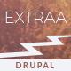 Extraa - Creative Minimal Drupal Theme