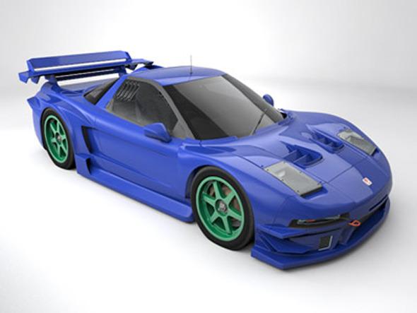 Honda NSX Raybridge - 3DOcean Item for Sale