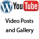 WP Youtube Videos Posts and Gallery