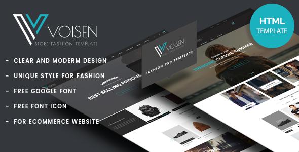 Voisen - Responsive eCommerce Fashion Template