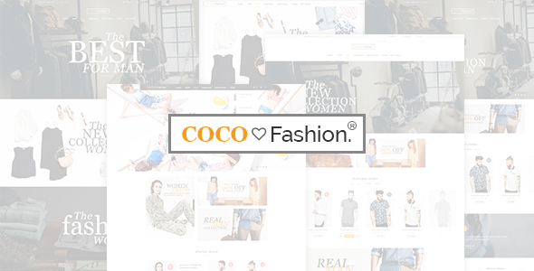 Coco - Fashion eCommerce HTML5 Template