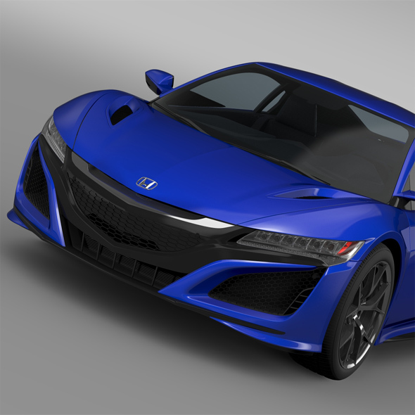 Honda NSX 2016 - 3DOcean Item for Sale