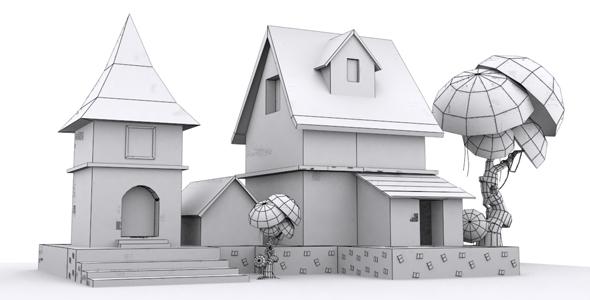 Game Asset 5 - 3DOcean Item for Sale