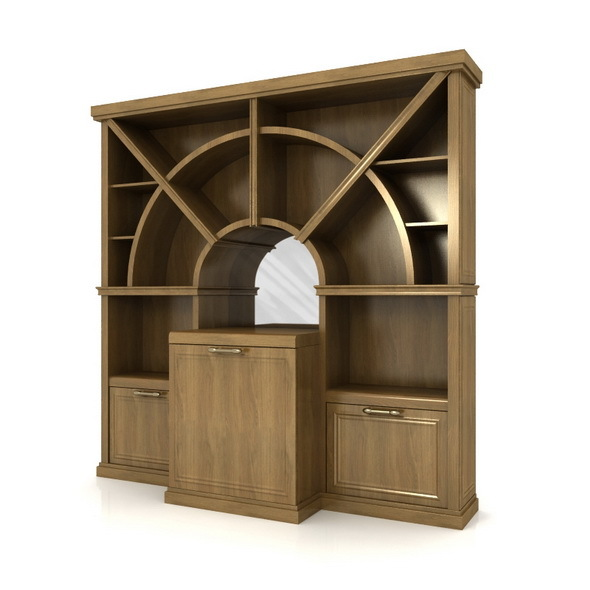 Bar cabinet - 3DOcean Item for Sale