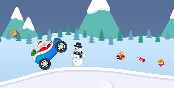 Snowy Road with AdMob and Leaderboard - CodeCanyon Item for Sale