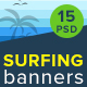 Surfing Banners