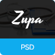 ZupaHealth – Medical and Health PSD Template - ThemeForest Item for Sale