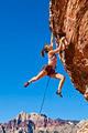 Rock climber on the edge. - PhotoDune Item for Sale