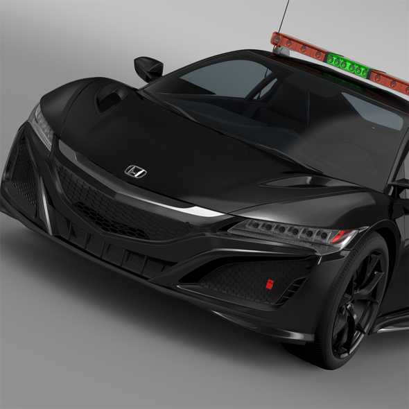 Honda NSX 2016 Safety Car - 3DOcean Item for Sale