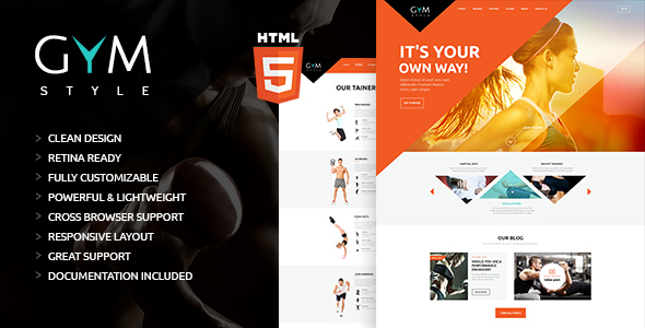 GYM | Sport & Fitness Club HTML Theme