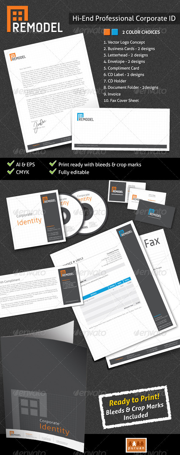 GraphicRiver Professional Corporate ID Remodel 1318748
