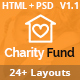 CharityFund - Charity & Crowdfunding HTML Template - ThemeForest Item for Sale