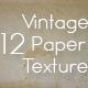 12 Vintage Paper Texture