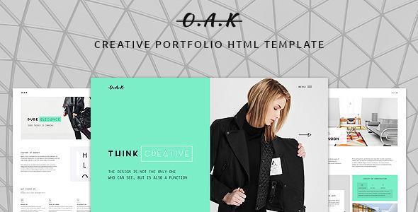 OAK - Creative Multi-Purpose HTML Template