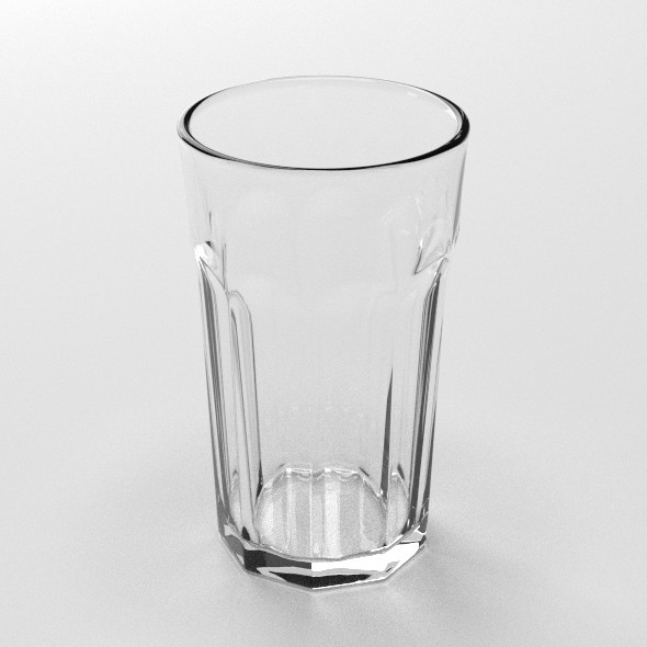 Drinking Glass - 3DOcean Item for Sale