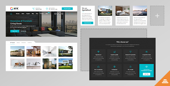 Hnk - Architecture Business WordPress Theme