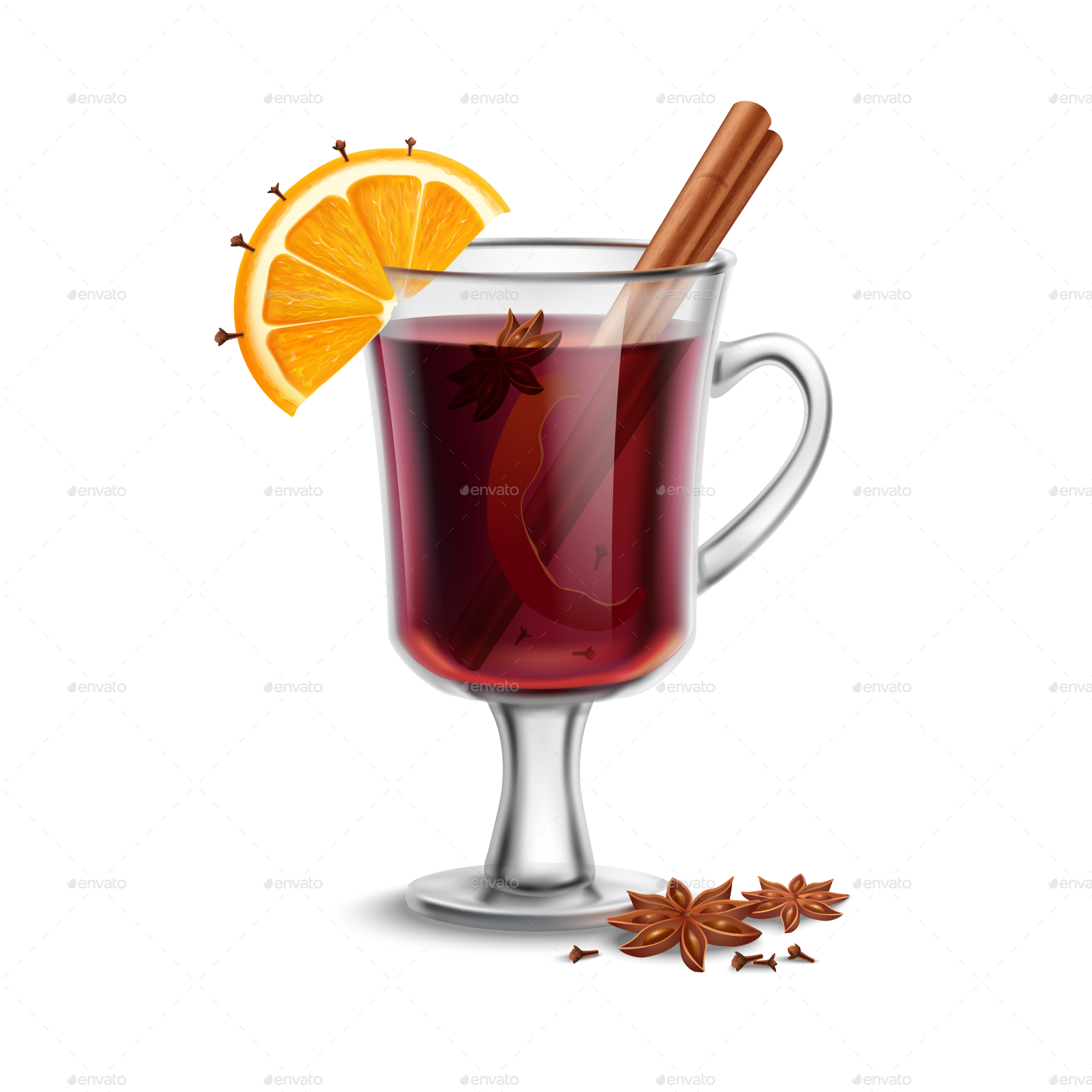 Mulled Wine by Mia_V | GraphicRiver