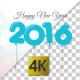 Happy New Year 2016 Balloon Background