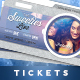 Event Tickets Template XV