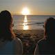 Girls and Sea Sunset - VideoHive Item for Sale