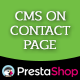CMS On Contact Page - CodeCanyon Item for Sale