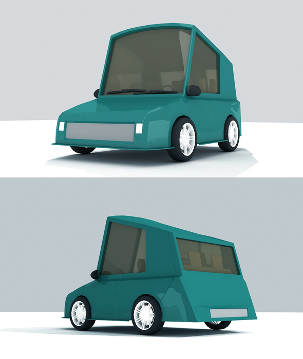 3d Car Model - 3DOcean Item for Sale