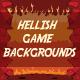 Hellish Game Backgrounds