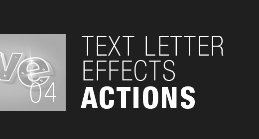 Text Effects with Actions