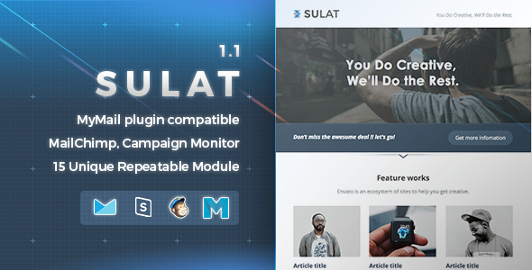 Sulat | Responsive Email Template