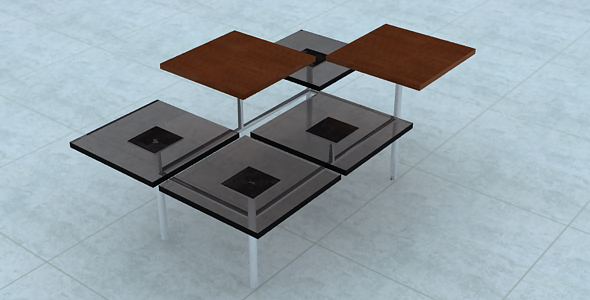 Center table - 3DOcean Item for Sale
