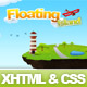 Floating Island Drawn Style XHTML Template - ThemeForest Item for Sale