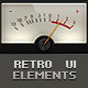 Retro User Interface Elements - GraphicRiver Item for Sale