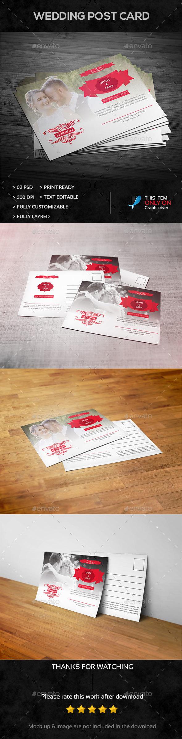 Wedding Post Card