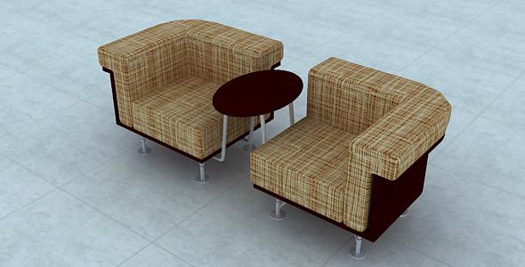 Sofa-02 - 3DOcean Item for Sale