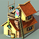 Fisherman House Model1 - (fablesalive game asset)
