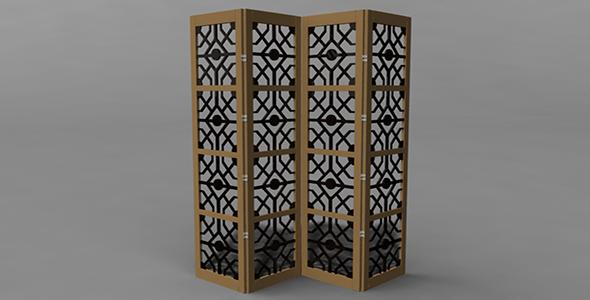 3DOcean Room divider 14299203