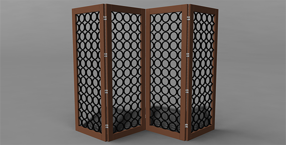 Room divider - 3DOcean Item for Sale
