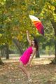 girl autumn fun - PhotoDune Item for Sale