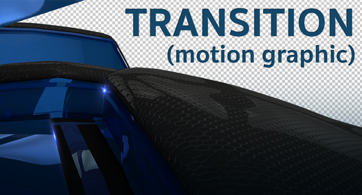 TRANSITION motion graphic