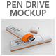 Pen Drive Mockup