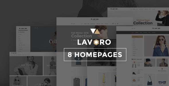 Lavoro - Fashion Shop Bootstrap Template