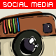 Illustrative Social Media Buttons