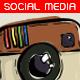 Illustrative Social Media Buttons