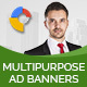 Multipurpose GWD Ad Banners - 7 Sizes