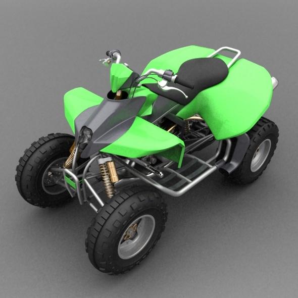 Quad bike - 3DOcean Item for Sale