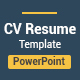 Simple Resume CV Presentation