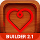 Valentine Email Template + Online Emailbuilder 2.1