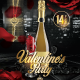 Hypnotic Valentine's Day Party Flyer Template
