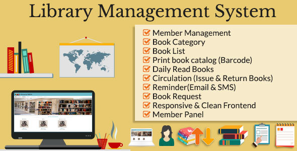 Library Management System Lms Project Management Tools Php Updated Scripts